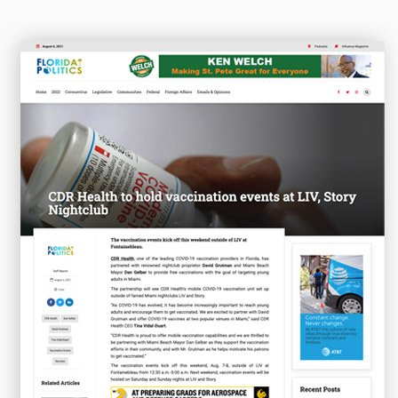 CDR Health to hold vaccination events at LIV, Story Nightclub